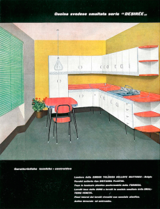 aurora cucine anni 50 - 60