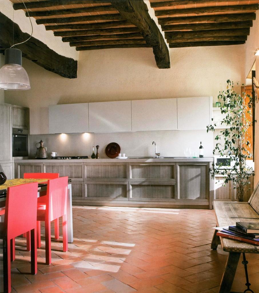 VINCENT GRIGIA AGRITURISMO- aurora cucine kitchen